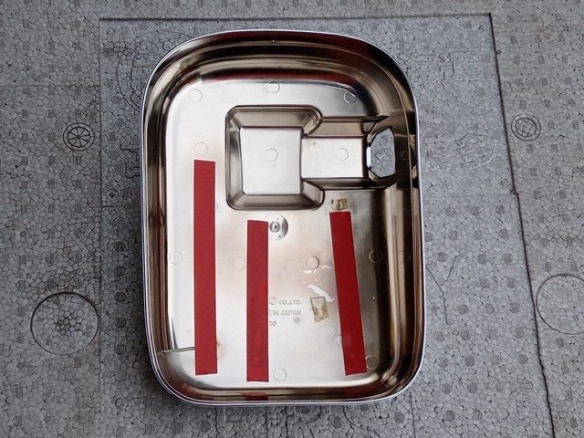 YAC製 UDクオン用メッキミラーカバー/助手席側2