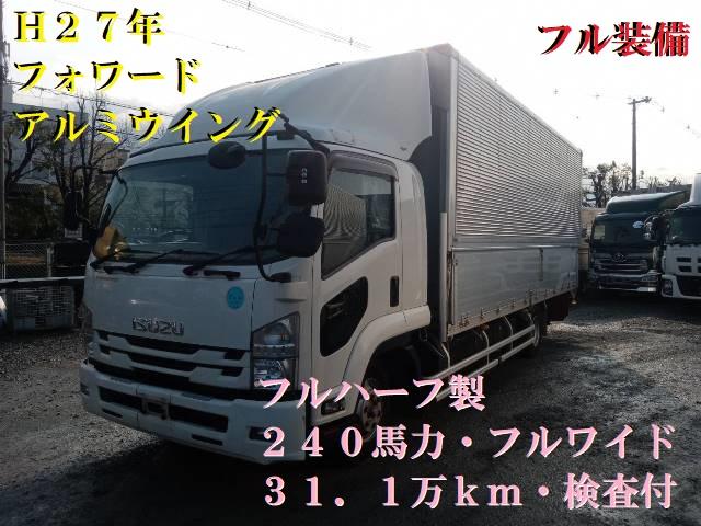 H27 TKG-FRR90S2 アルミウイング フルワイド 240馬力 6MT1