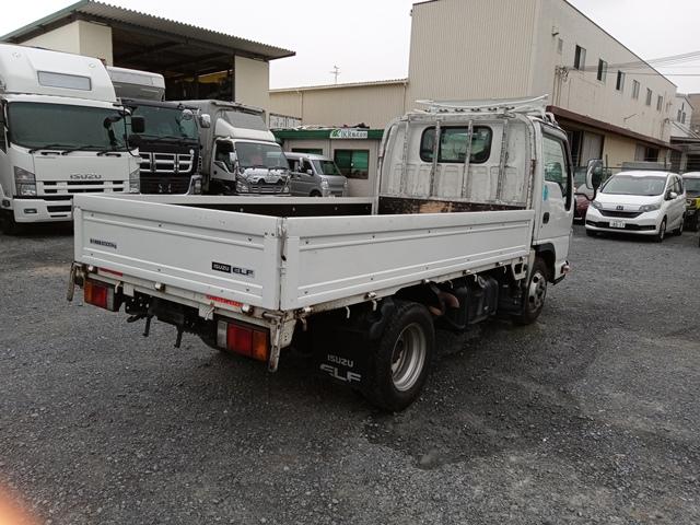 H26年10月 TKG‐NJR85A いすゞ エルフ 平ボデー フルフラットロー 5MT2