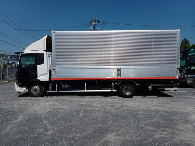 H23年 UDトラックス 4t格納ゲート付アルミウイング 6MT エアサス5