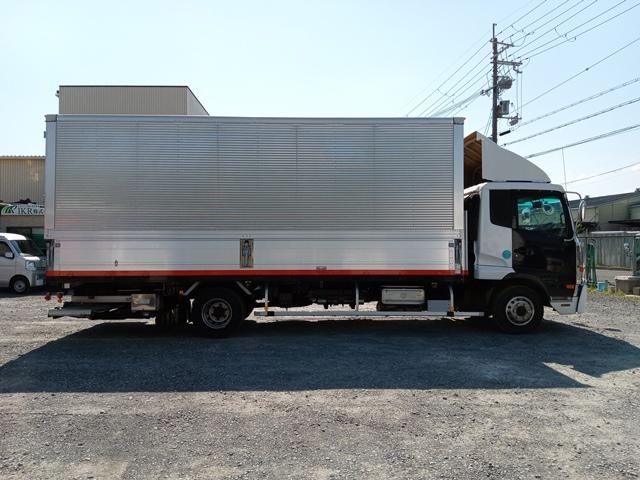H23年 UDトラックス 4t格納ゲート付アルミウイング 6MT エアサス6