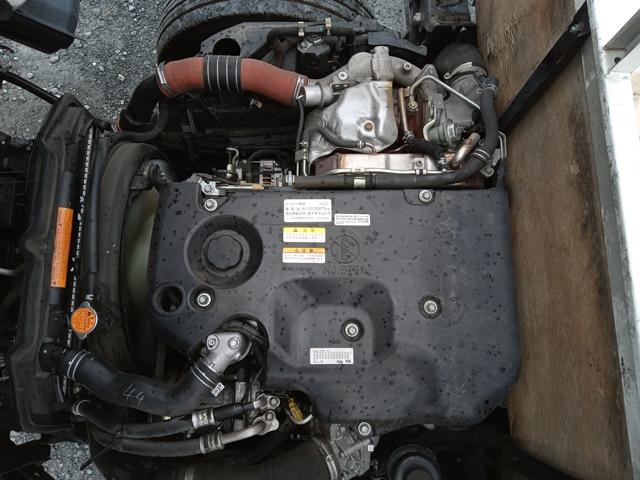 H26年10月 TKG‐NJR85A いすゞ エルフ 平ボデー フルフラットロー 5MT17