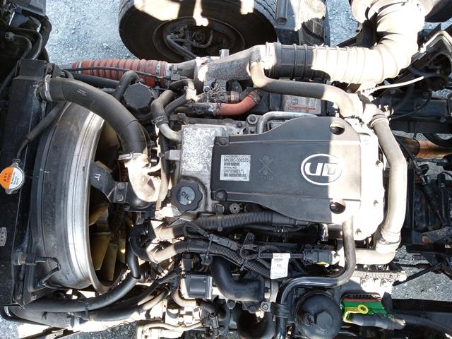 H23年 UDトラックス 4t格納ゲート付アルミウイング 6MT エアサス48