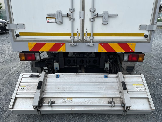 H24年 いすゞ エルフ ワイド 格納ゲート付きロングバン 6MT17