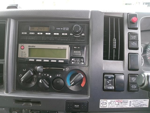 H22年 いすゞ フォワード アルミバン サイドドア付 ワイド 6MT 車検付き22