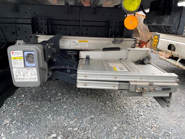 H24年 いすゞ エルフ ワイド 格納ゲート付きロングバン 6MT22