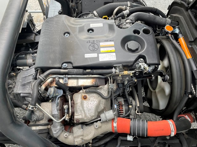 H24年 いすゞ エルフ ワイド 格納ゲート付きロングバン 6MT52