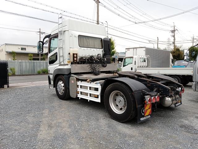 H27年 QPG-FP64VDR 三菱 スーパーグレート トラクタ 車検付 297千㎞2