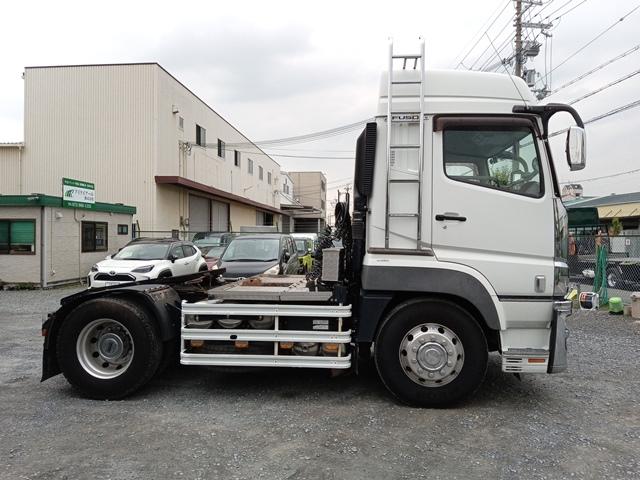 H27年 QPG-FP64VDR 三菱 スーパーグレート トラクタ 車検付 297千㎞6