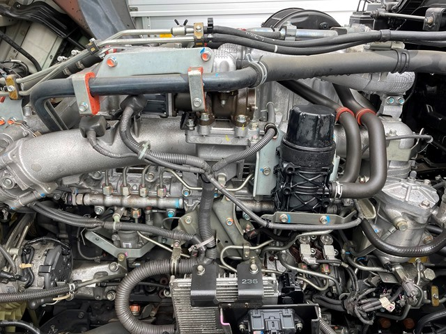 H28 QKG-CYM77B いすゞ ギガ アルミブロック 7MT 380PS62